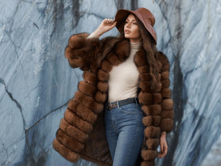 毛皮 コート